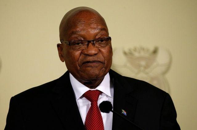 Что за скандал с президентом ЮАР?