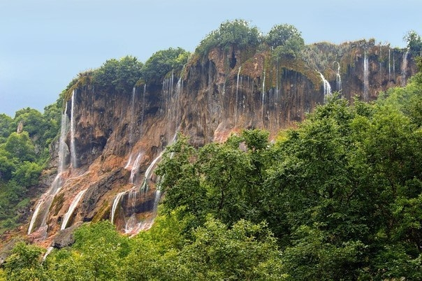 Гедмишх - самый живописных водопад Кабардино-Балкарии