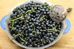 Густой джем из синего винограда - фото шаг 2