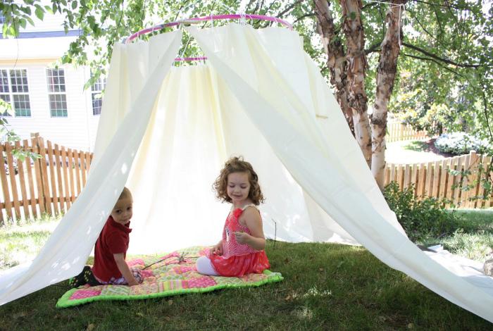 Детская палатка.