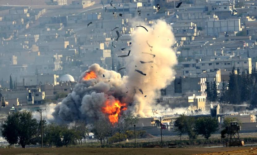 США нанесли удар по сирийским позициям