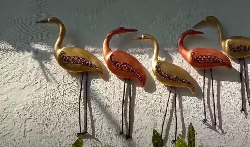 Птицы счастья — элегантный, красивый и простой в исполнении декор из подручных материалов интерьер,переделки,рукоделие,своими руками,сделай сам