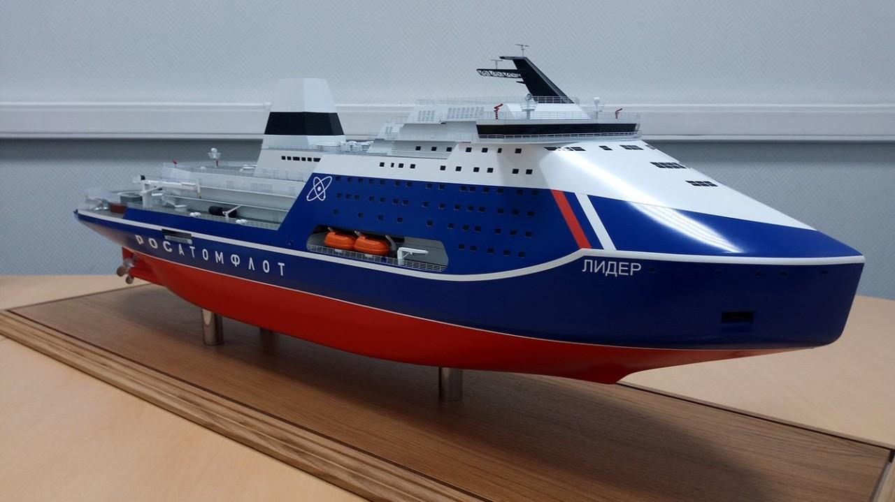 Мощь флота России: запускается новый док для атомных ледоколов