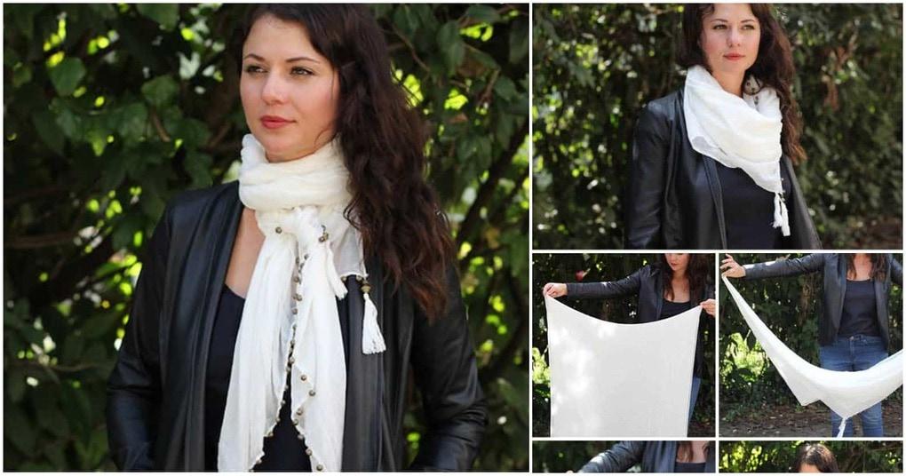 13 супер стильных способов завязать шарф