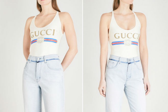 Gucci выпустили купальник, в котором нельзя купаться