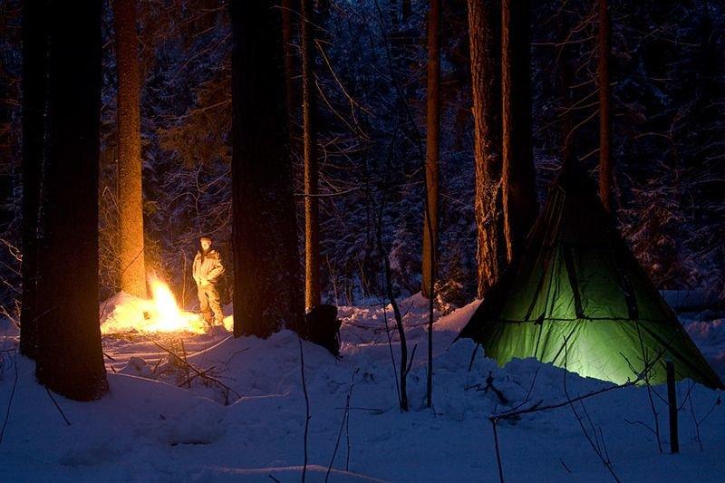 Зимний спальный мешок длиннопост, зима, интересно, поход, путешествие, туризм