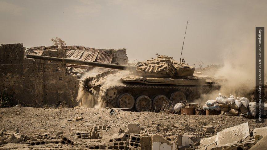 Освобождён Аль-Мустариха: сирийская армия рвёт оборону «ан-Нусры» вокруг Ар-Рахаджана