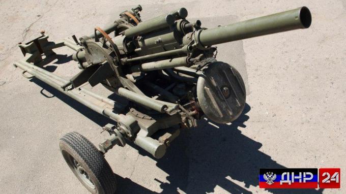 «Правый сектор» продал армии ДНР миномет «Василек»