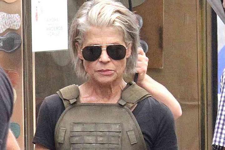 61-летняя «Сара Коннор» вернулась в «Терминатор»