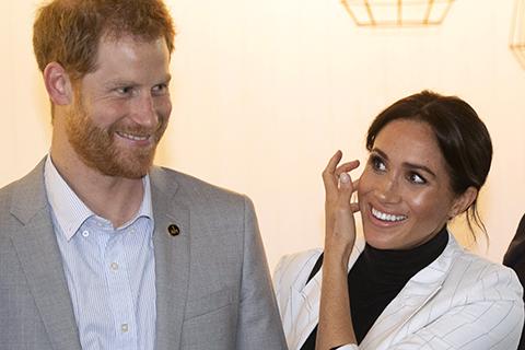 Беременная Меган Маркл после отдыха присоединилась к принцу Гарри на официальном приеме