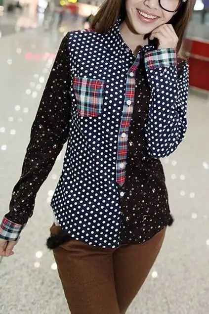 От этих 15 женственных блузок в горошек придет в восторг каждая модница