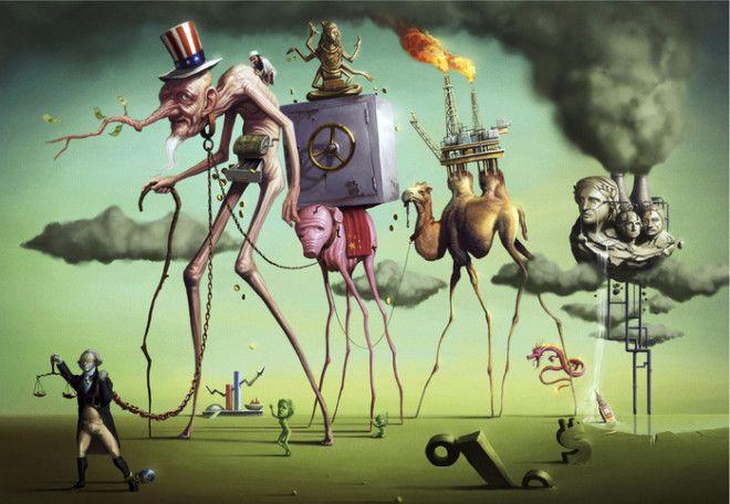 Сюрреалистический мир. Автор: Tiago Hoisel.