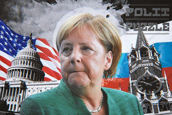 Политолог: Меркель делает реверанс в сторону США, обвиняя Россию в прекращении ДРСМД..