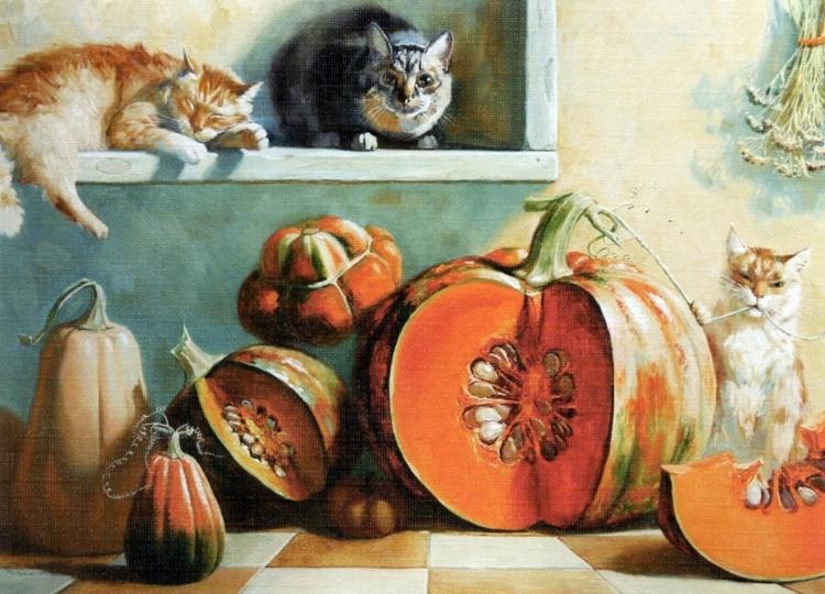 Художник Мария Павлова. Картины, которые рождают улыбки живопись
