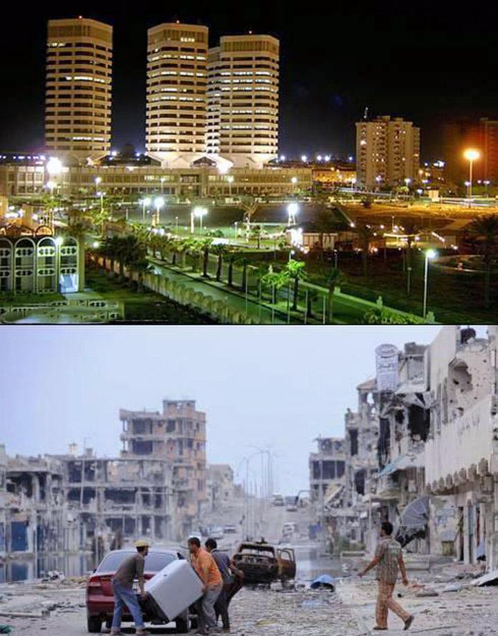ливия при каддафи и после фото стал