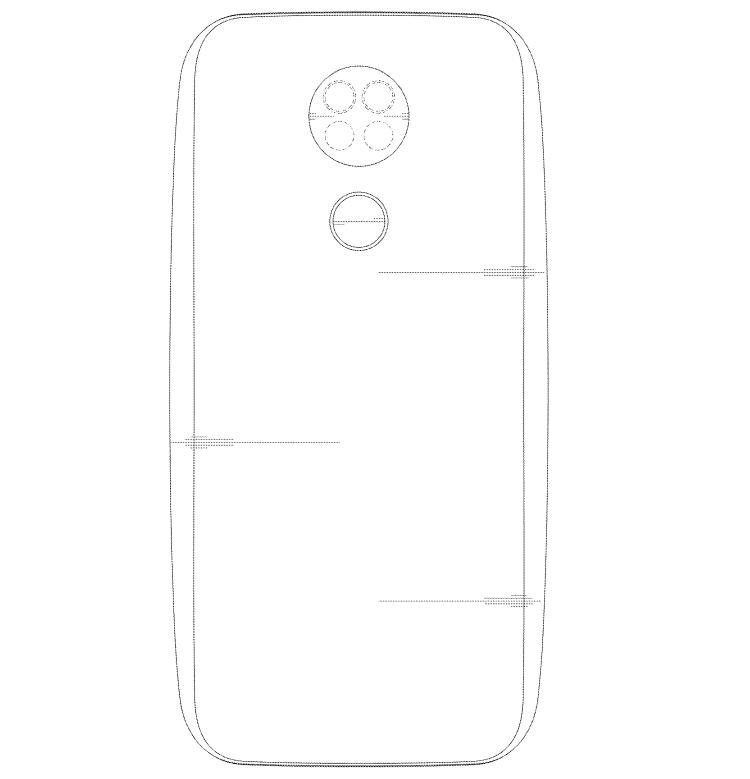 LG запатентовала смартфон с тройной селфи-камерой смартфон