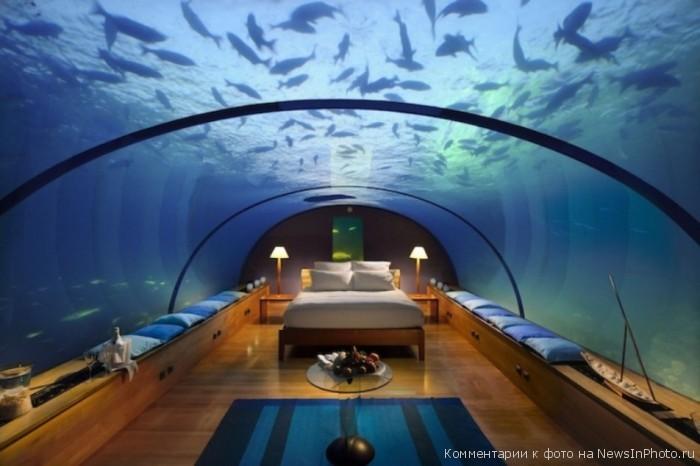 Сладкий сон под водой!