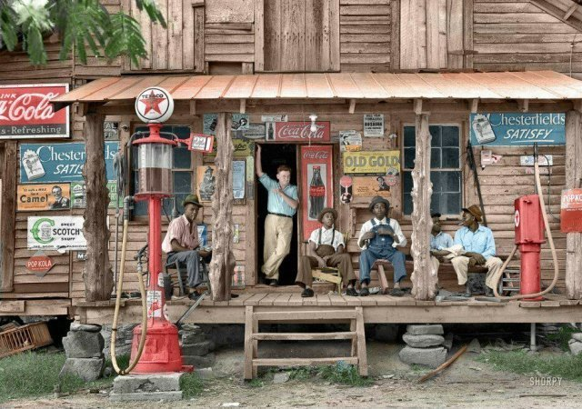 История цивилизации в 21 фотографии