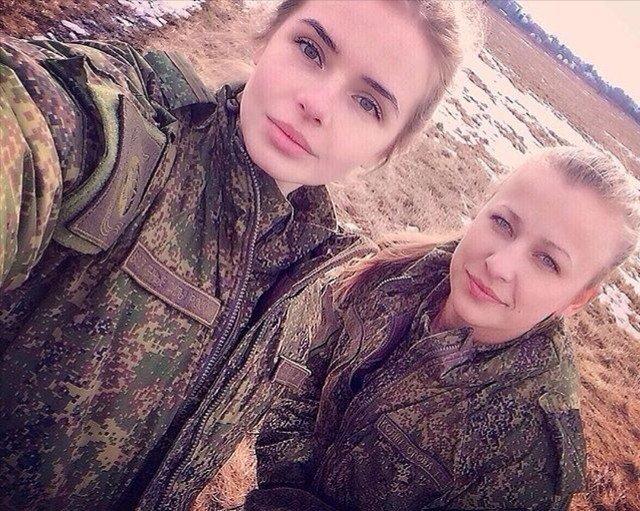 Красота - страшная сила: сногсшибательные россиянки в форме армия, вооруженные силы, девушки, красота, россия, сила, форма