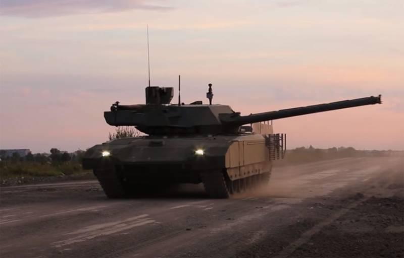 КАЗ «Афганит» танка Т-14 «Армата» имеет высокую эффективность против американских ПТРК TOW и Javelin оружие
