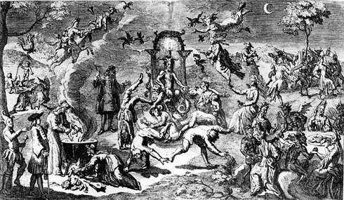 Шабаш ведьм в пятницу 13