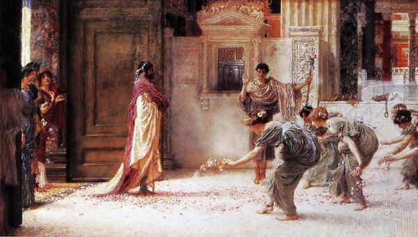 """Лоуренс Альма-Тадема, """"Каракалла"""", 1902"""
