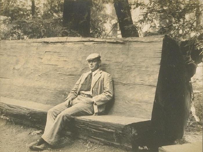 Фотографии из личного архива знаменитого писателя Джека Лондона, которые были опубликованы недавно дальние дали