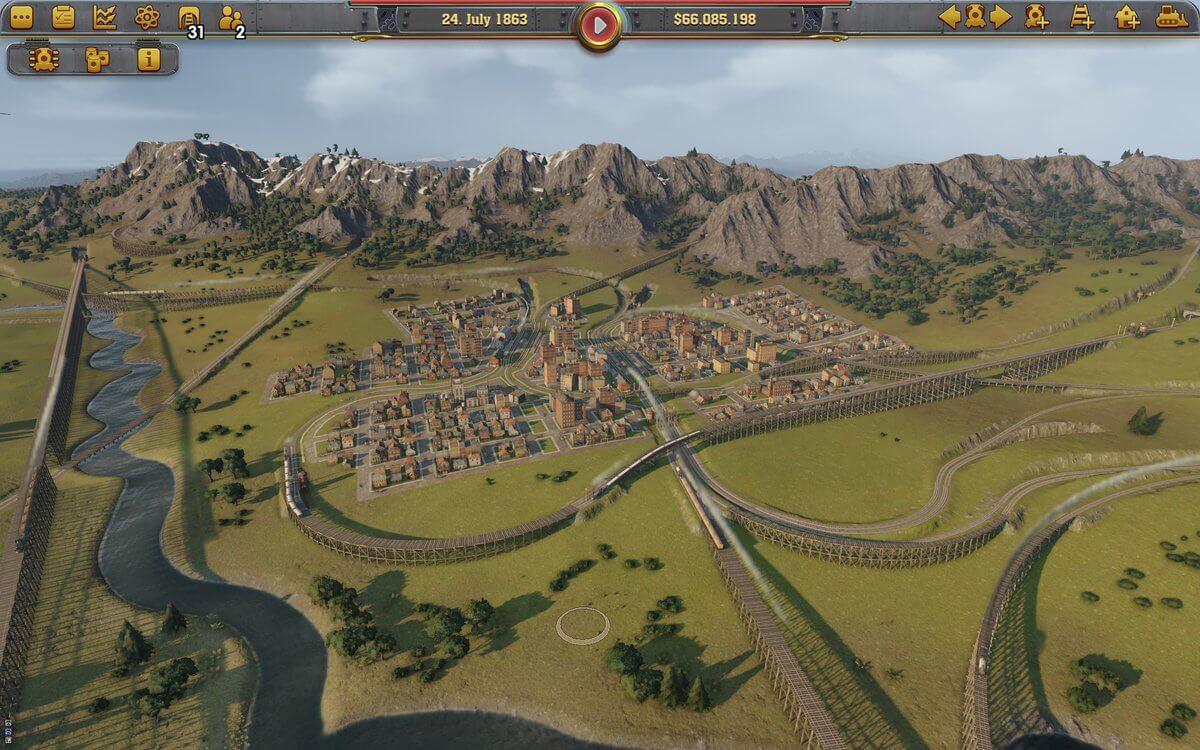 Railway Empire — Начался бета-тест симулятора железнодорожной компании
