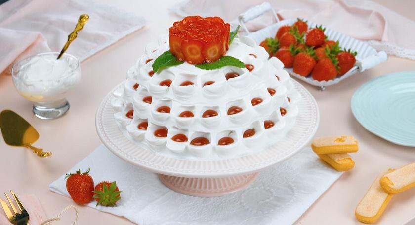 Торт без выпечки с кремом маскарпоне: оригинальный и невероятно вкусный
