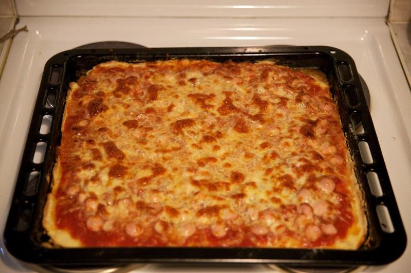 лучшее бездрожжевое тесто для пиццы