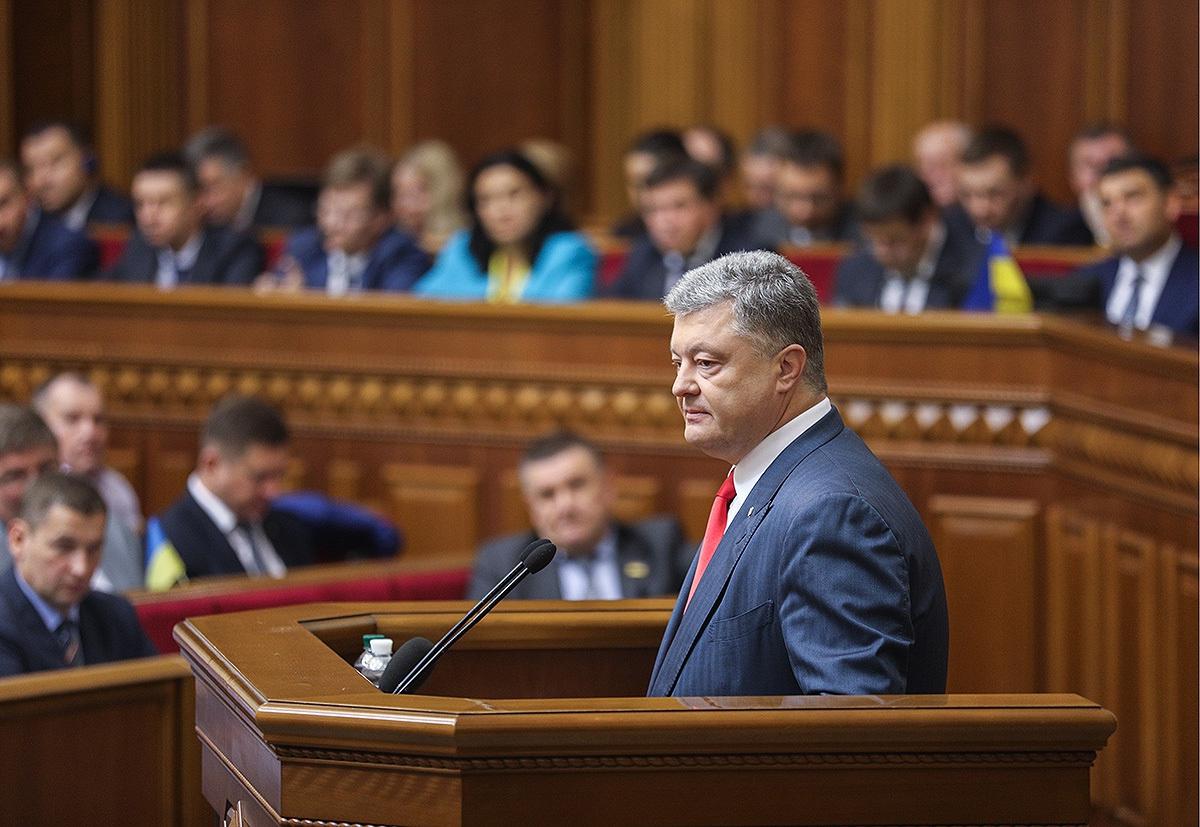 Большинство украинцев не поддерживает курс Порошенко