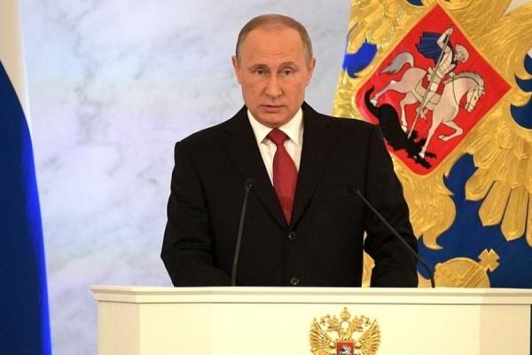 Путин может выступить спосланием второй раз вконце года