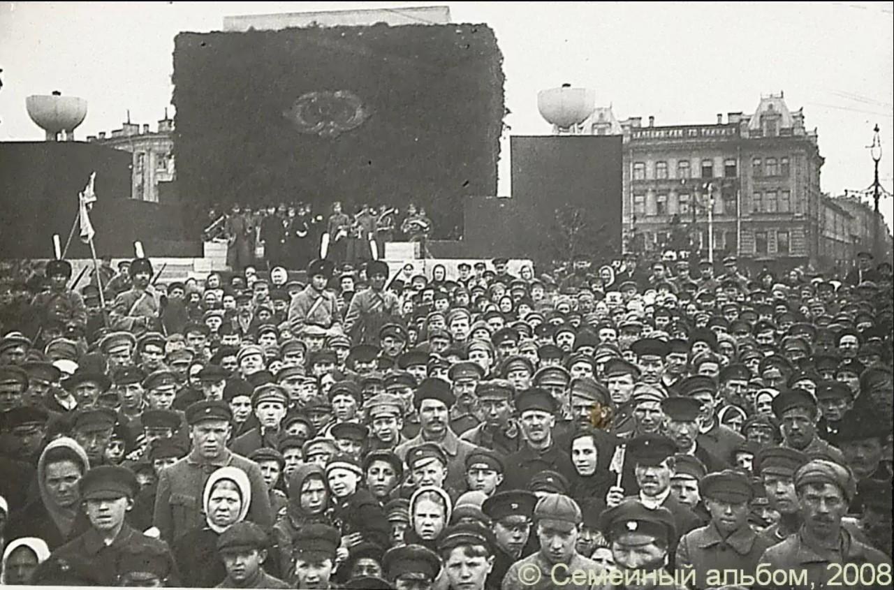Исторические кадры Петрограда в 1921-1923 годах