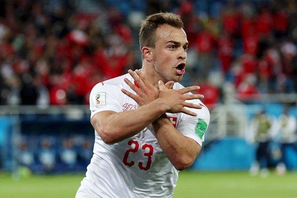 Сербия— Швейцария: Футбол с…