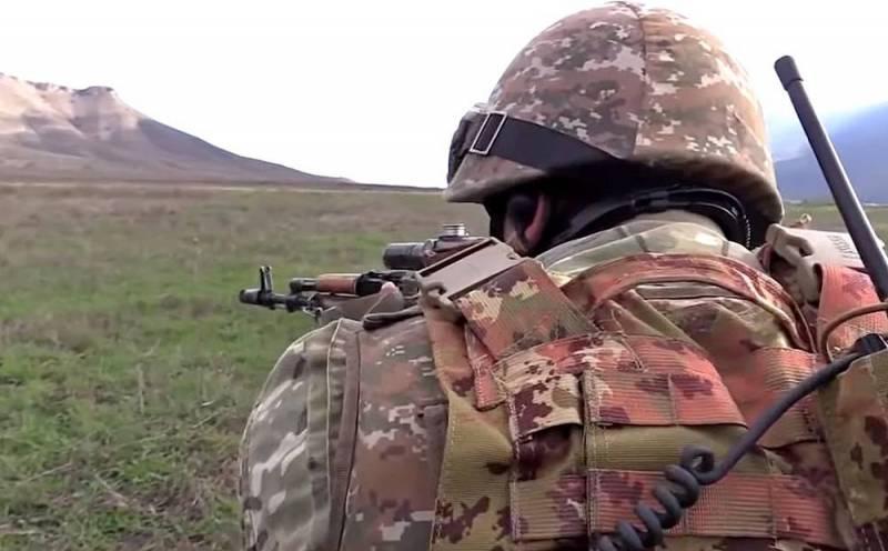 Первое боестолкновение после перемирия произошло в Карабахе Новости
