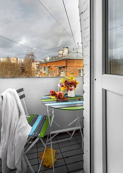 Современный Балкон и лоджия by m2project