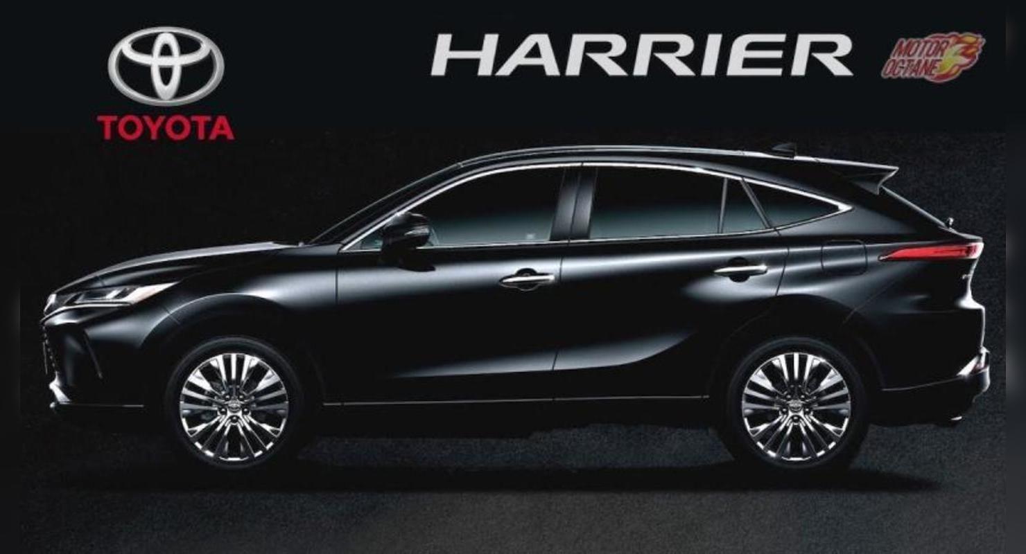 Очередь за новым кроссом Toyota Harrier достигла 9 месяцев Автомобили