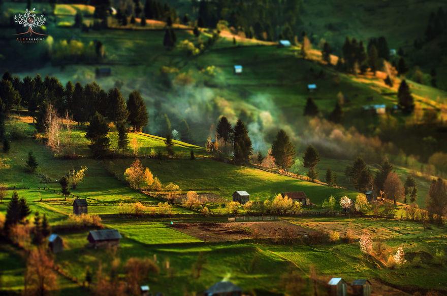 Трансильвания — туманные рассветы и закаты