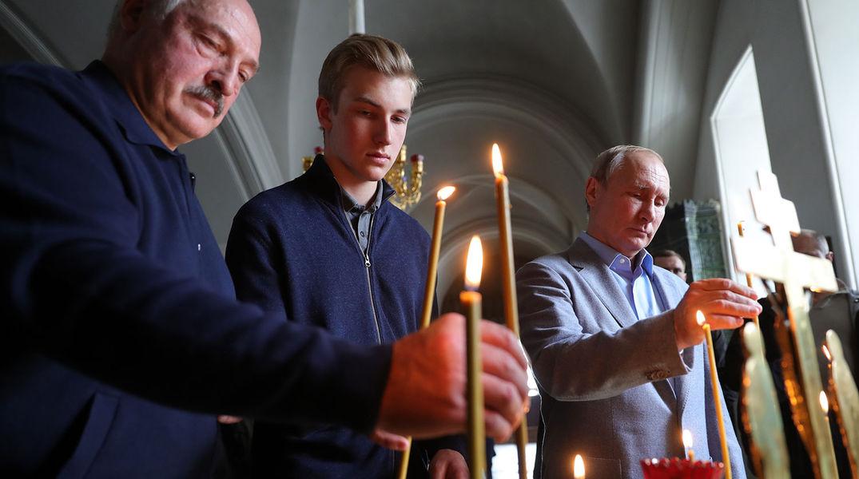 Зачем Путин вчера ездил на Валаам и взял с собой Лукашенко