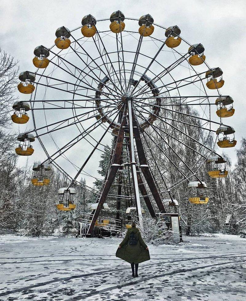 Или колесо обозрения Припять, Чернобыль, зона, туризм, чаэс, экстрим