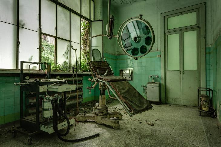 Заброшенные психиатрические лечебницы
