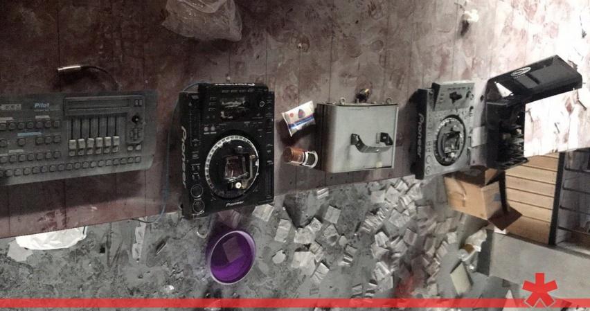 В крымском селе шестиклассник разгромил лопатой ночной клуб