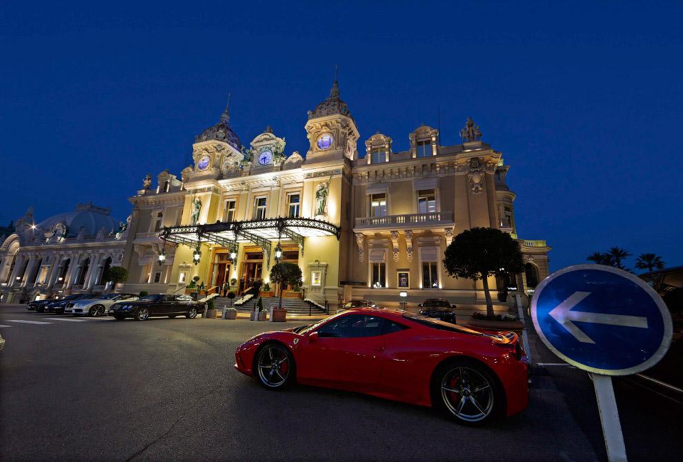 Казино Монте-Карло в Монако архитектура