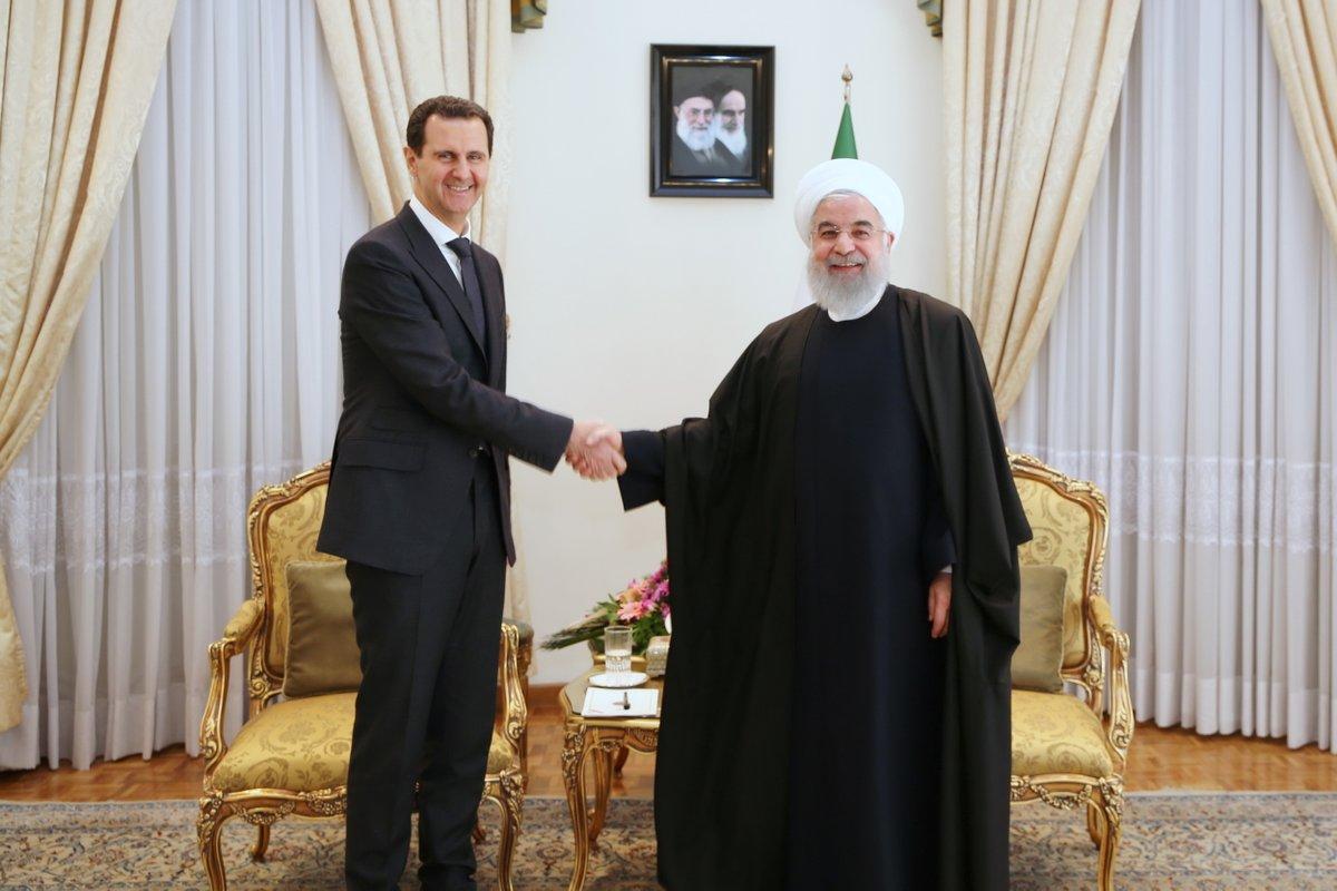 Асад в Тегеране