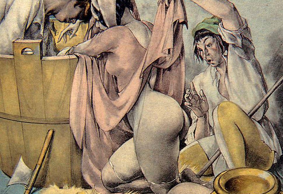 Этот итальянский иллюстратор начала XX века точно знал, что такое эротика!