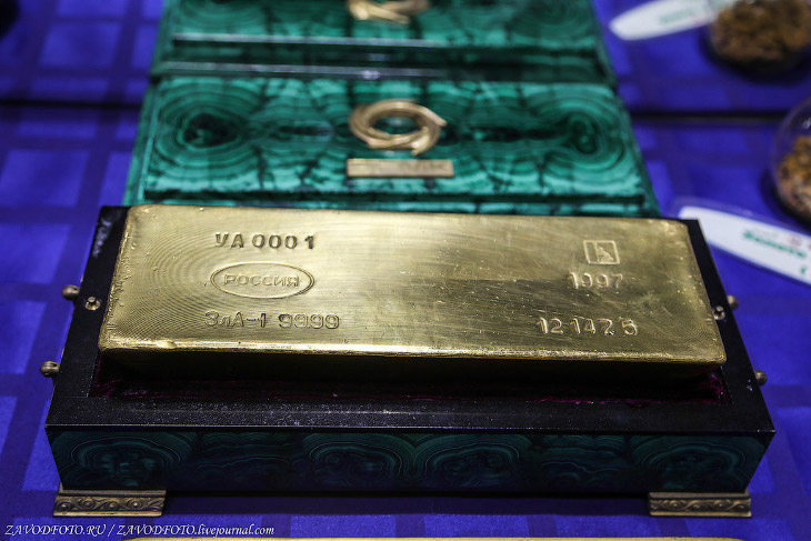 25 интересных фактов о золоте