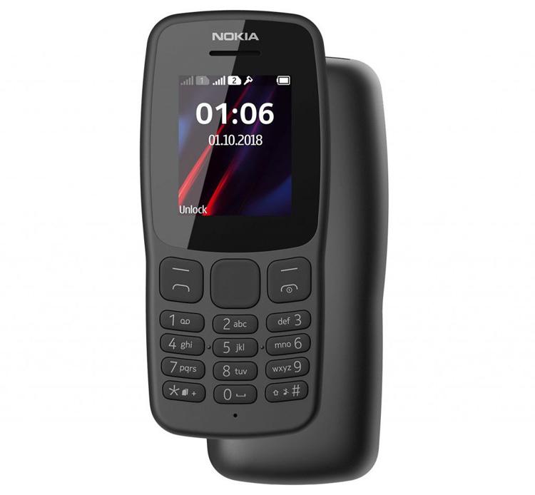 Анонсирован сотовый телефон Nokia 106 за 18 долларов