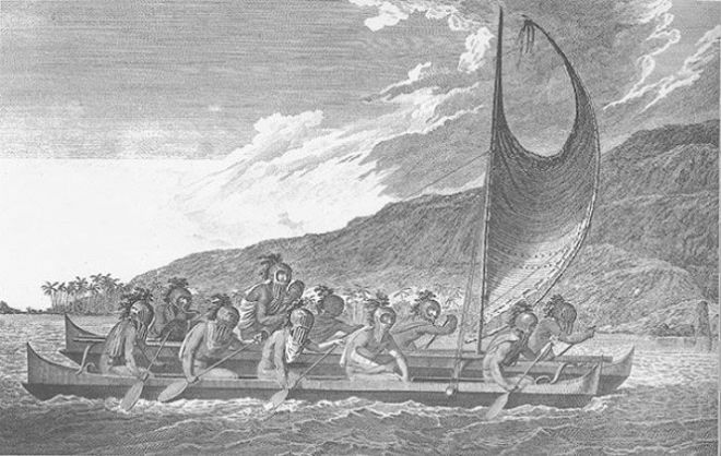 Люди в лодке