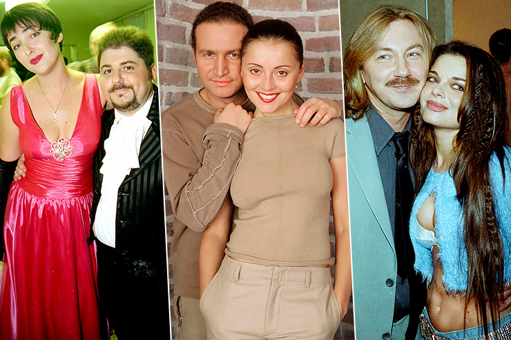 Легендарные пары российской эстрады