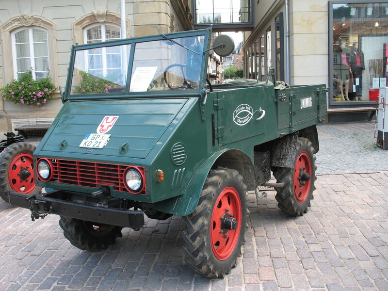 Самый первый «Унимог»: ещё никакого «Мерседеса» авто,автомобиль,Россия